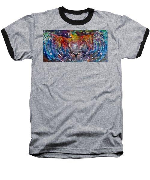 Awaken Baseball T-Shirt by Leela Payne
