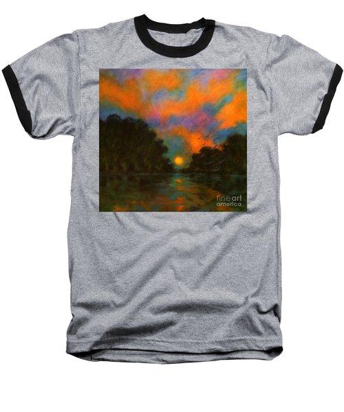 Awaken The Dream Baseball T-Shirt by Alison Caltrider