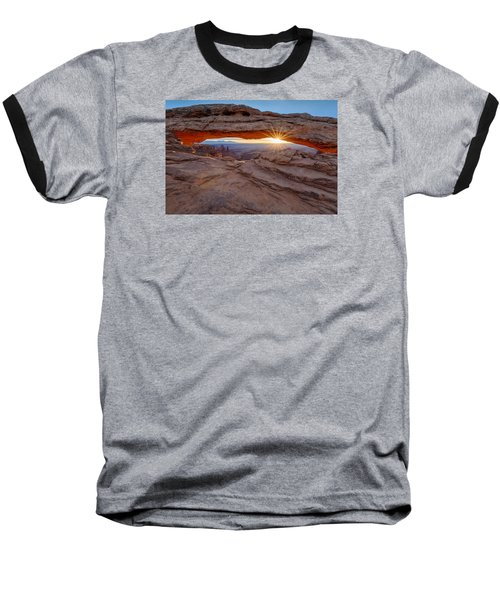 Awakening At Mesa Arch Baseball T-Shirt