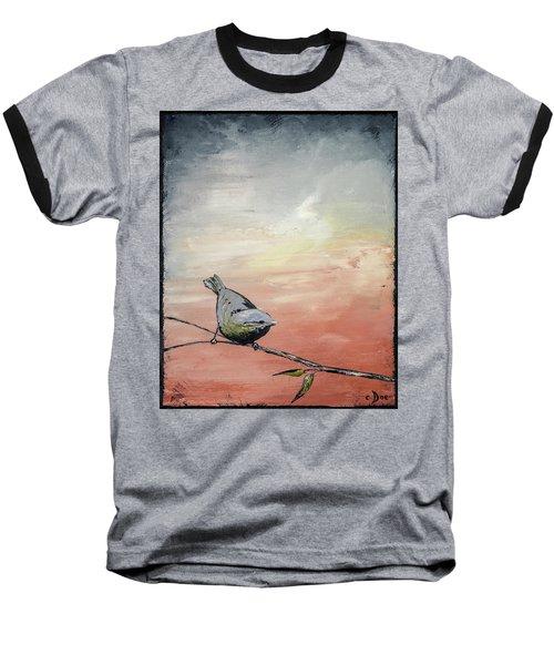 Awakening Baseball T-Shirt by Carolyn Doe