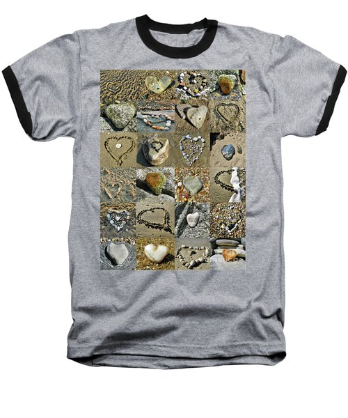 Awesome Hearts Found In Nature - Valentine S Day Baseball T-Shirt