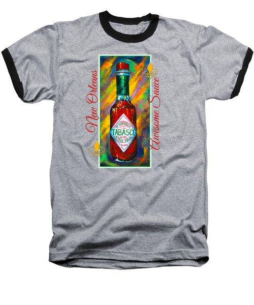 Awesome Sauce - Tabasco Baseball T-Shirt