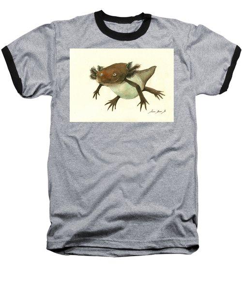 Axolotl Baseball T-Shirt