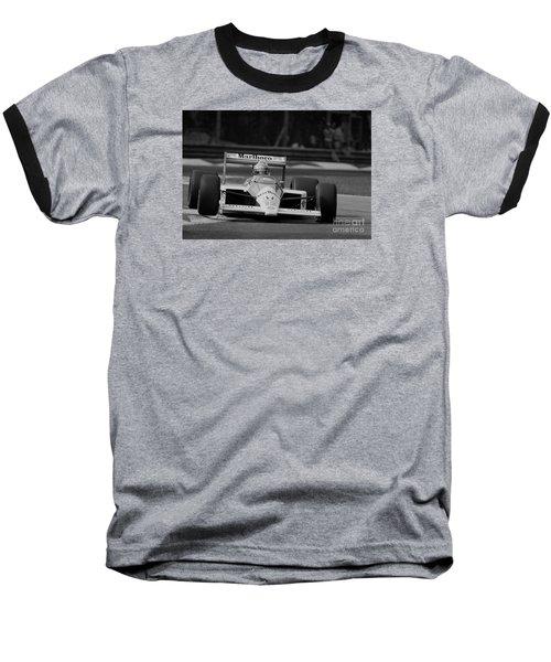 Ayrton Senna. 1988 Italian Grand Prix Baseball T-Shirt