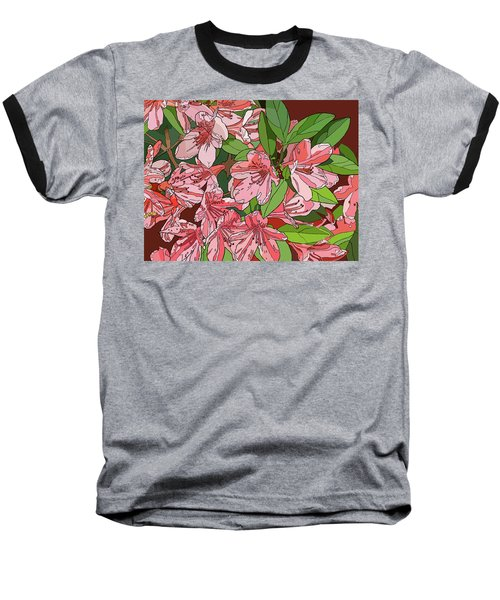 Azalea Bunch Baseball T-Shirt