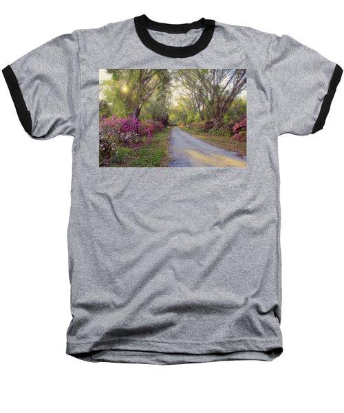 Azalea Lane By H H Photography Of Florida Baseball T-Shirt