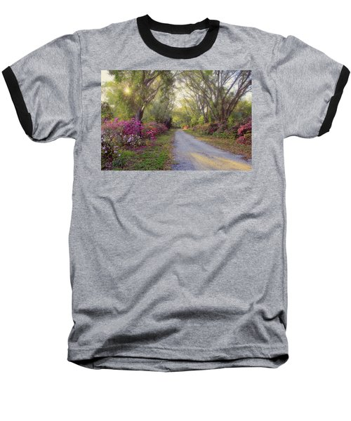 Azalea Lane By H H Photography Of Florida Baseball T-Shirt