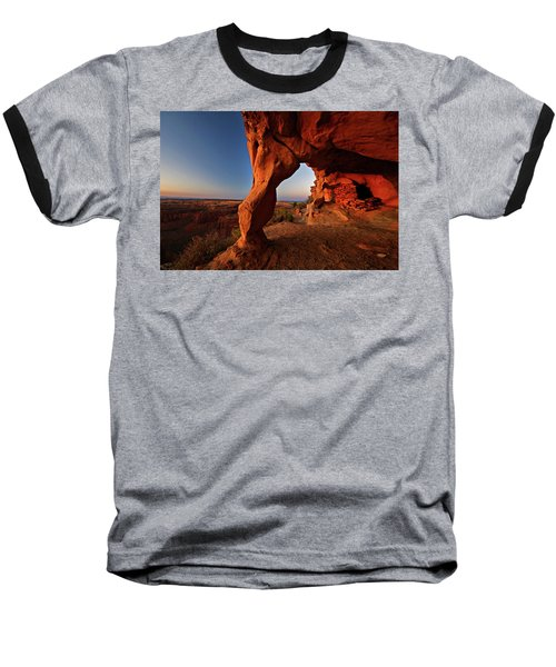 Baseball T-Shirt featuring the photograph Aztec Butte by Wesley Aston