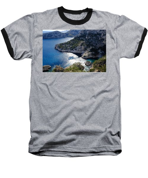 Azure Calanques Baseball T-Shirt