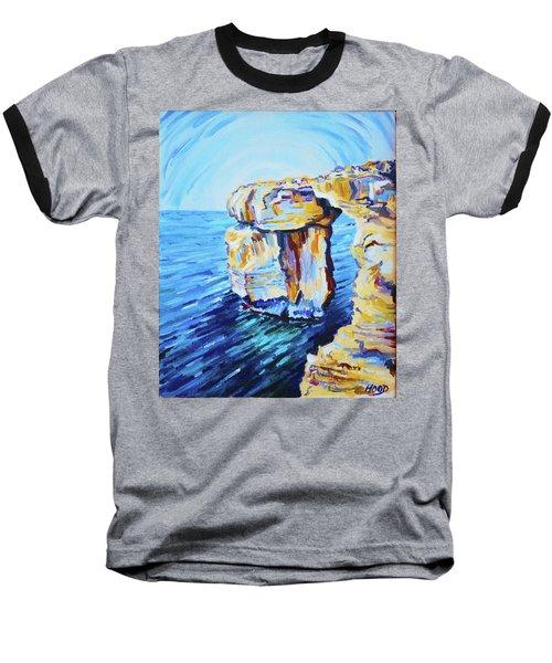 Azure Window Baseball T-Shirt