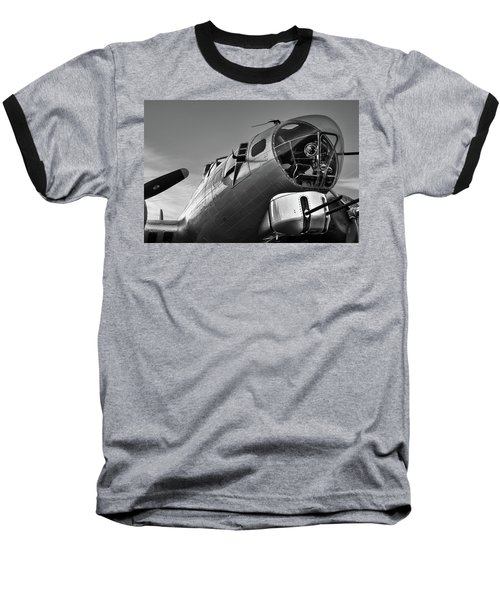 B-17 Nose Baseball T-Shirt