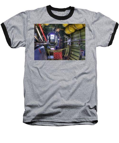 B-24 Baseball T-Shirt by Joe  Palermo