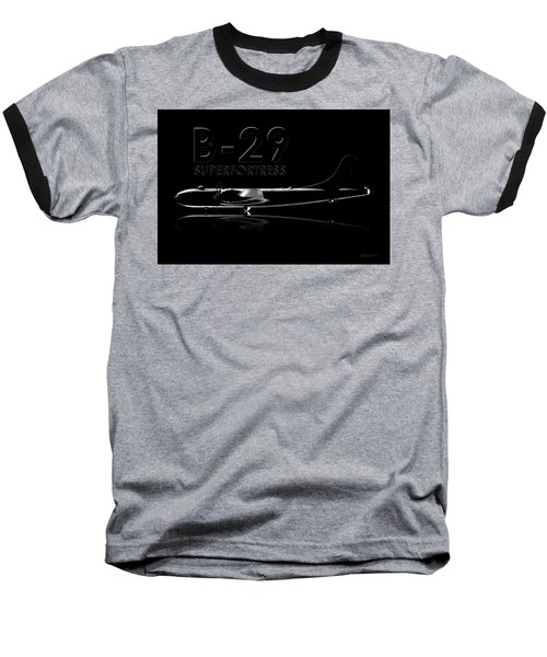 B-29 Superfortress Baseball T-Shirt by David Collins