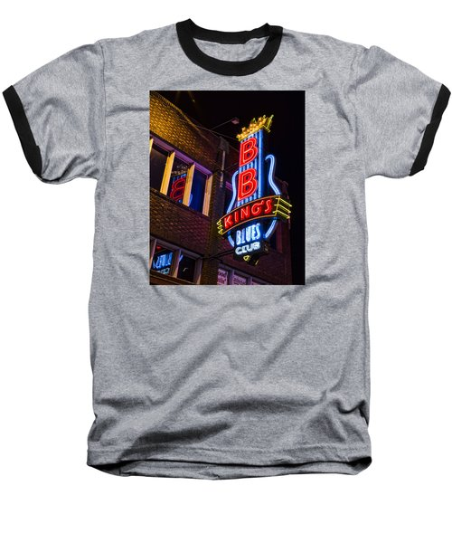 B B Kings On Beale Street Baseball T-Shirt