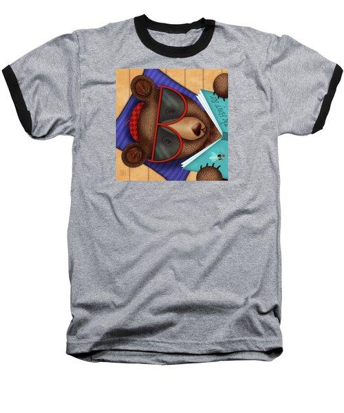 B Is For Brown Bear Baseball T-Shirt