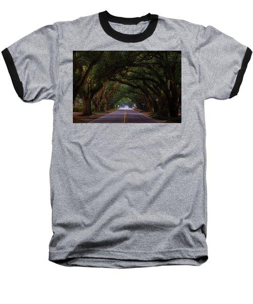 Boundary Ave Aiken Sc 6 Baseball T-Shirt by Menachem Ganon