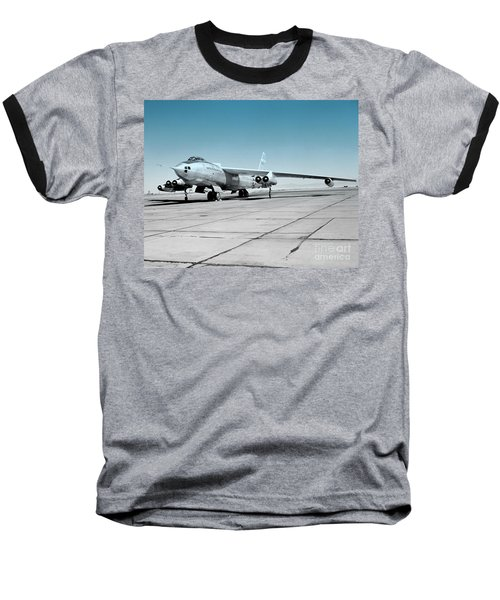 Baseball T-Shirt featuring the photograph B47a Stratojet - 1 by Greg Moores