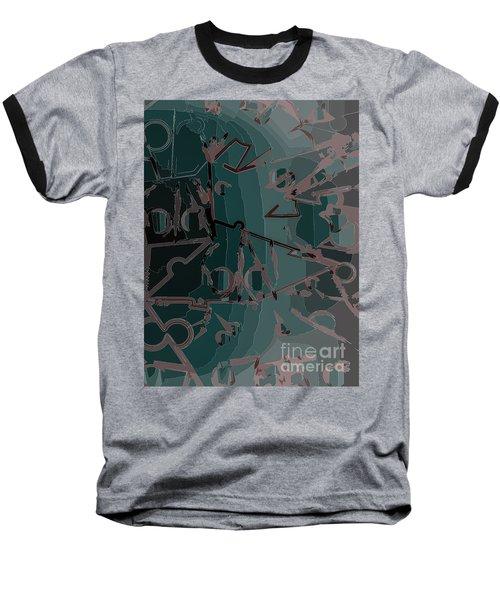 Babble Baseball T-Shirt by Moustafa Al Hatter