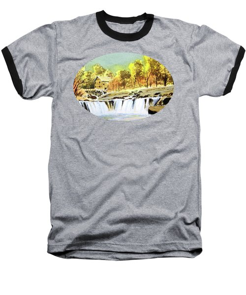 Babcock State Park West Virginia Baseball T-Shirt by Bill Holkham