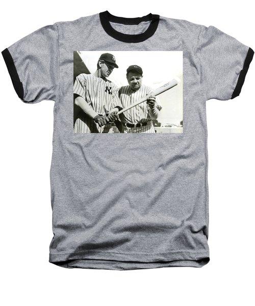 Babe Ruth And Lou Gehrig Baseball T-Shirt