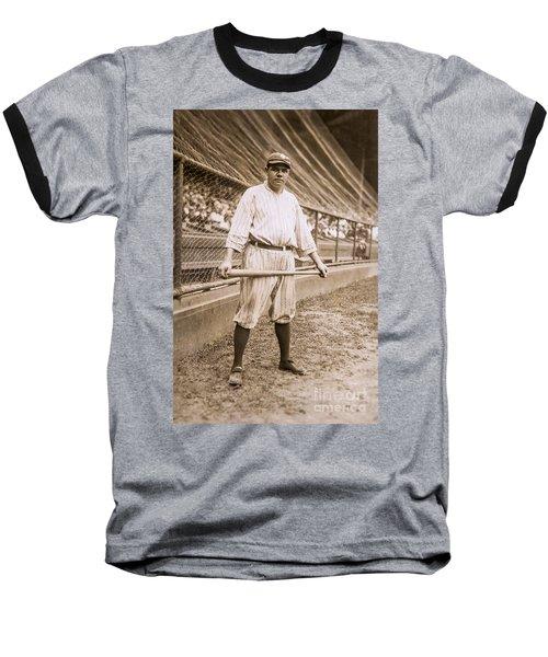 Babe Ruth On Deck Baseball T-Shirt