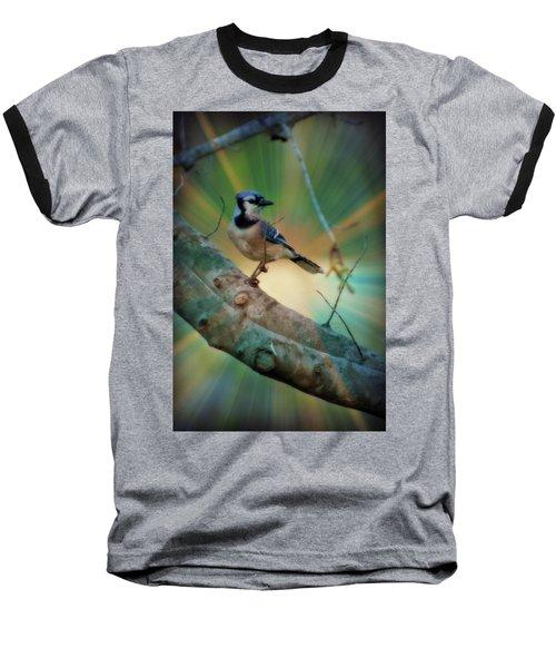 Baby Blue Baseball T-Shirt