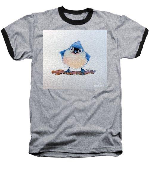 Baby Bluebird Baseball T-Shirt