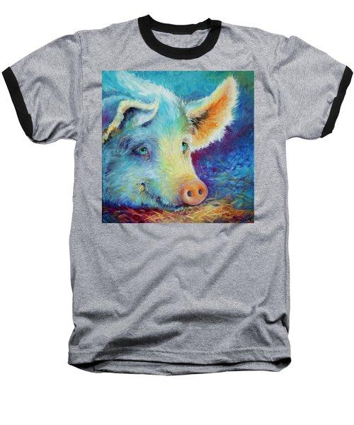 Baby Blues Piggy Baseball T-Shirt