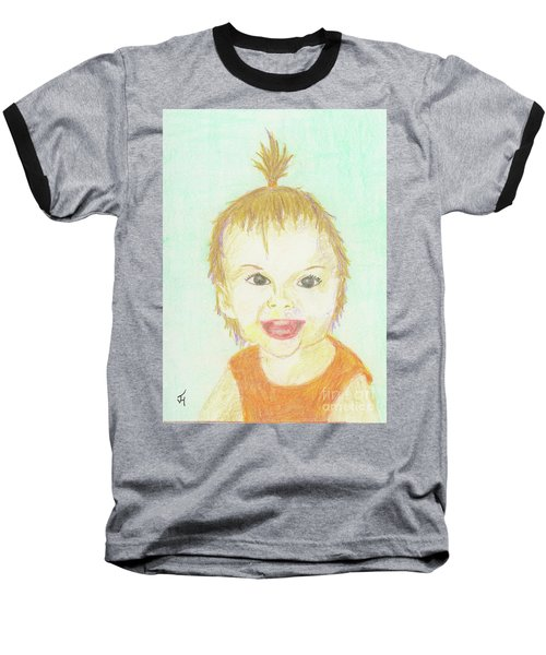 Baby Cupcake Baseball T-Shirt