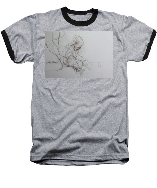 Baby, Drawing With Mother Baseball T-Shirt