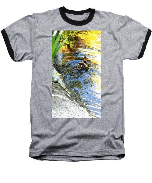 Baby Duck Baseball T-Shirt