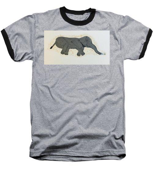 Baby Elephant  Baseball T-Shirt