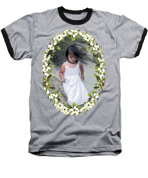 Baby Girl Baseball T-Shirt by Brian Wallace