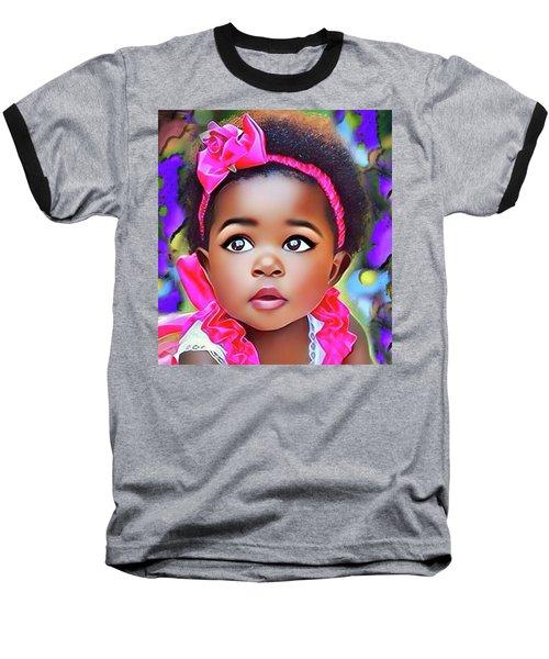 Baby Girl Baseball T-Shirt