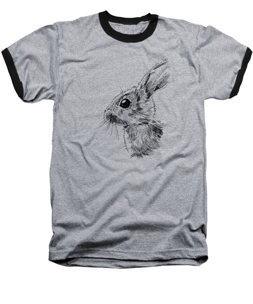 Baby Hare Baseball T-Shirt