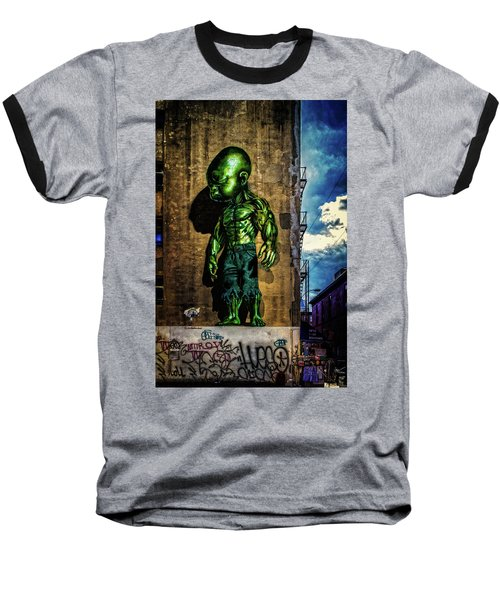 Baseball T-Shirt featuring the photograph Baby Hulk by Chris Lord