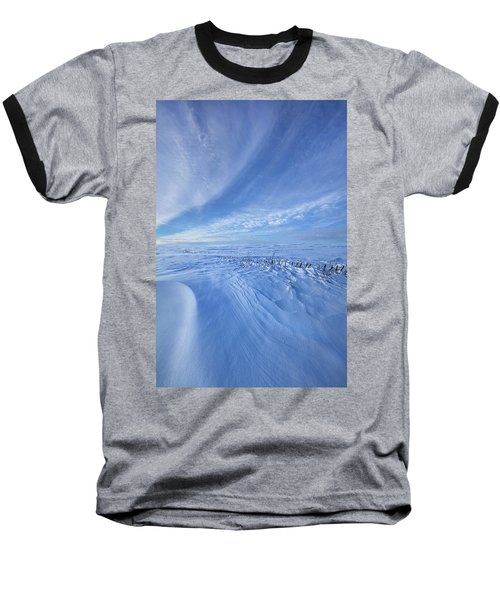 Baseball T-Shirt featuring the photograph Baby It's Cold Outside by Phil Koch