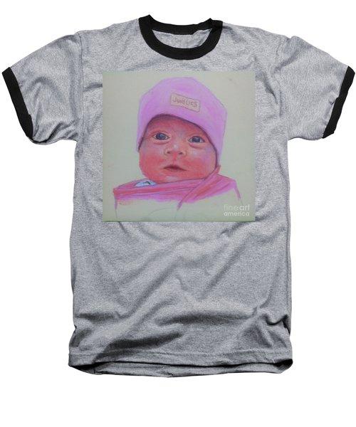 Baby Lennox Baseball T-Shirt by Rae  Smith PAC