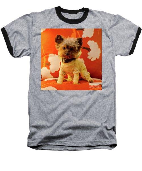 Baby Mel In Pjs Baseball T-Shirt