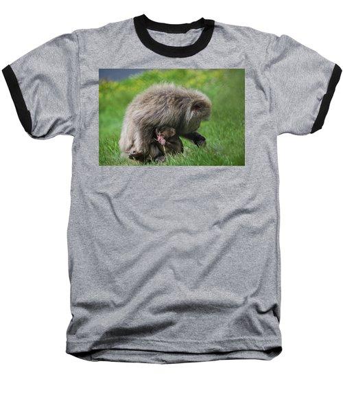 Baby Monkey Baseball T-Shirt