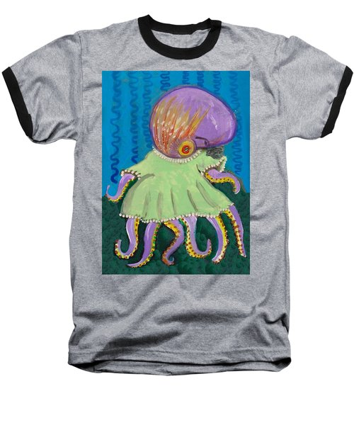 Baby Octopus In A Dress Baseball T-Shirt