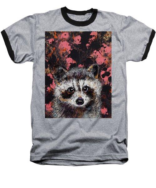 Baby Raccoon Baseball T-Shirt