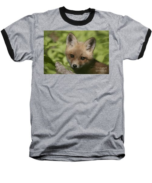 Baby Red Fox Baseball T-Shirt