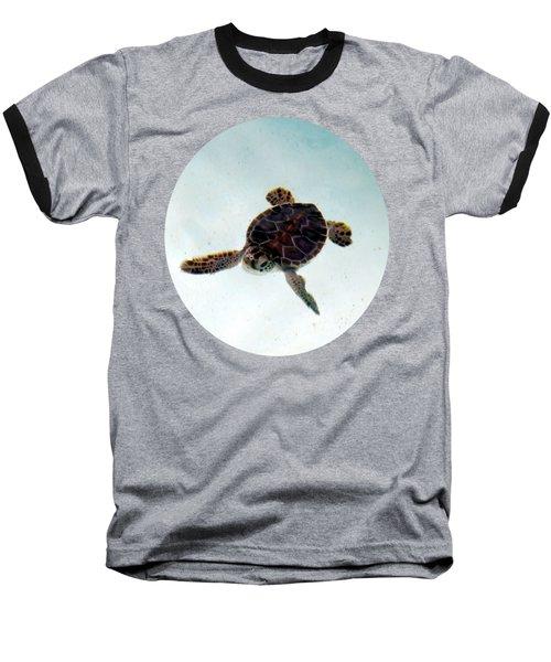 Baby Turtle Baseball T-Shirt