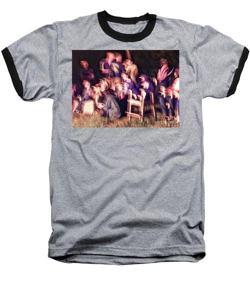 Bacchanalian Freak Show With Hieronymus Bosch Treatment Baseball T-Shirt