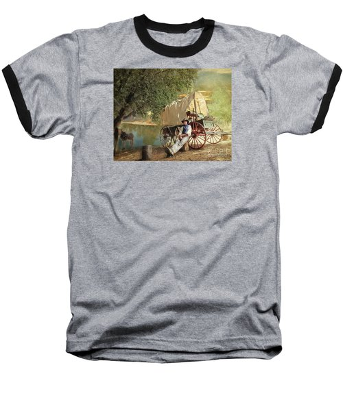 Back Country Camp Out Baseball T-Shirt
