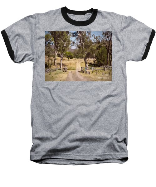 Back Country Farm Track Baseball T-Shirt