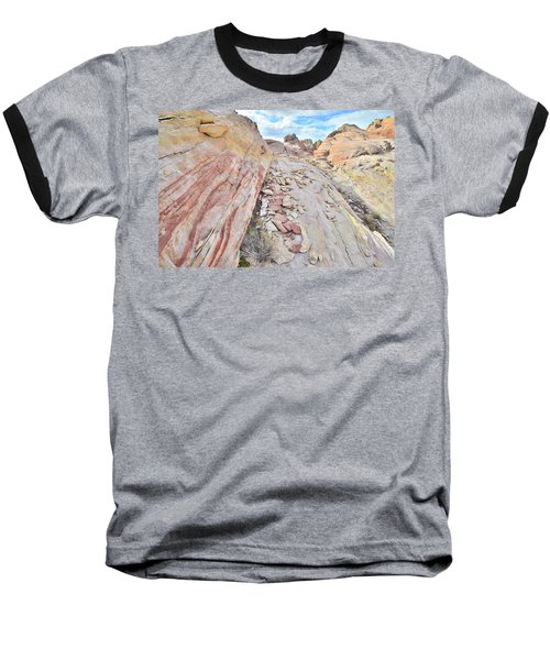 Back Country Valley Of Fire Baseball T-Shirt
