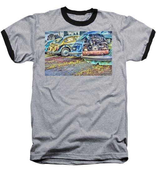 Baseball T-Shirt featuring the photograph Back End Bugs by Jean OKeeffe Macro Abundance Art