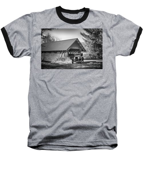 Back In The Day Baseball T-Shirt by Nicki McManus